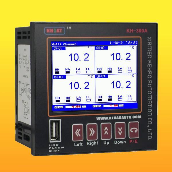 KH300AB 6 Channels Blue Temperature Recorder