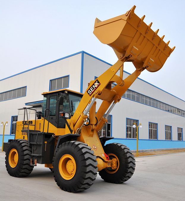 China cheap wheel loader 5T loader SX959 for sale