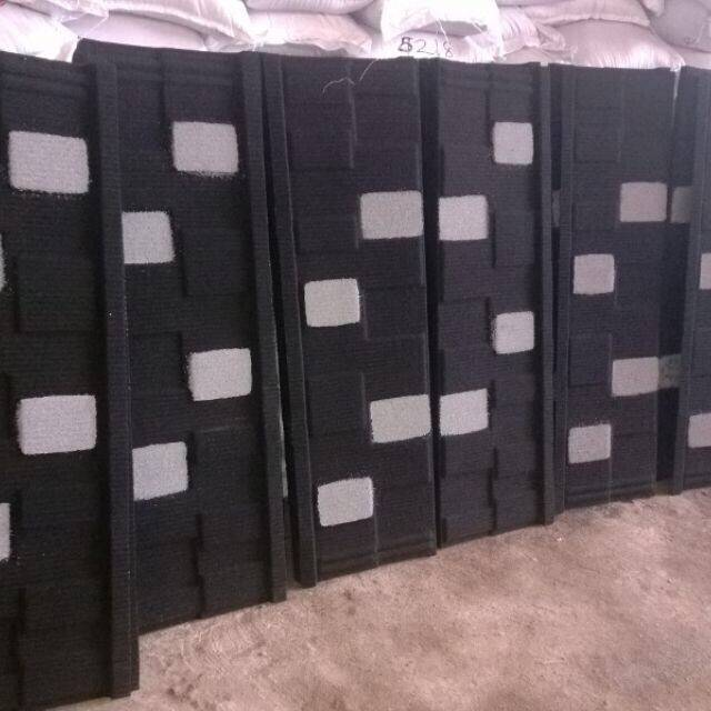 Colored stonecoatedmetalroofing