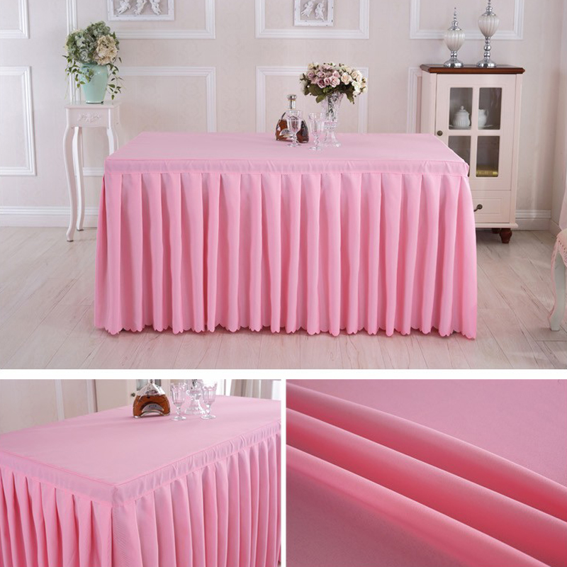 Reasonable Price Fabric Lift Table Skirts