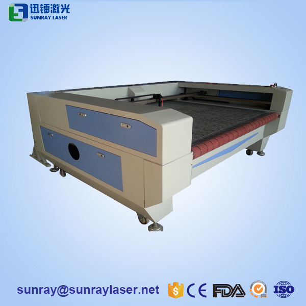 Roll fabric leather Laser Cutting Machine with auto feeding system