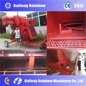 High efficiency raliable peanut picking machine for farm