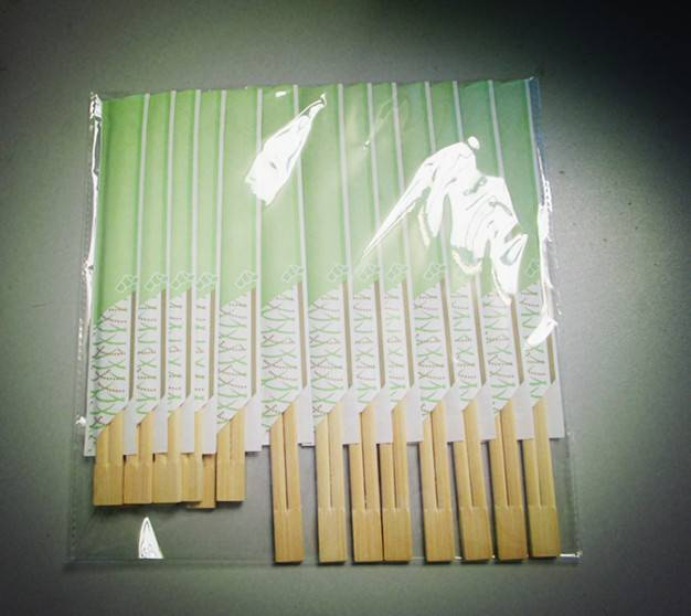 disposable twin2 bamboo chopsticks
