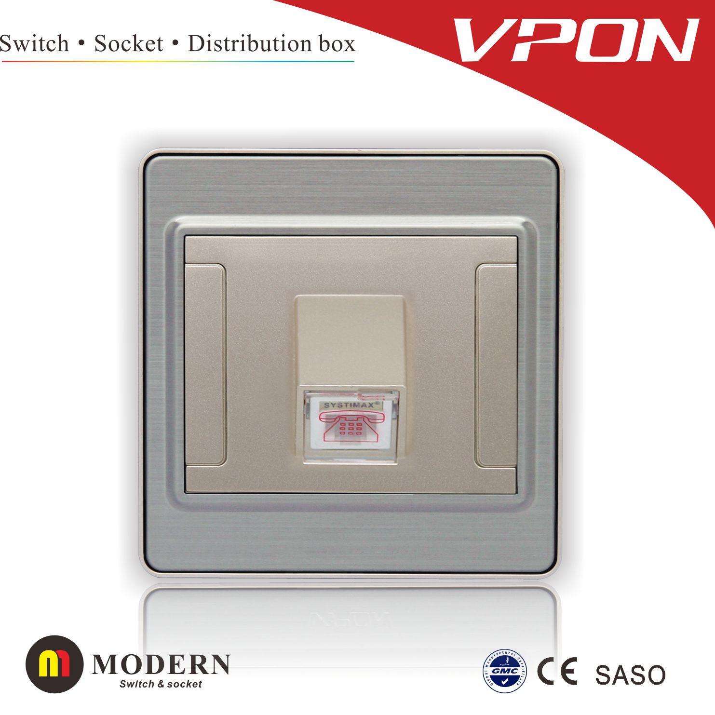 TEL socket outlet