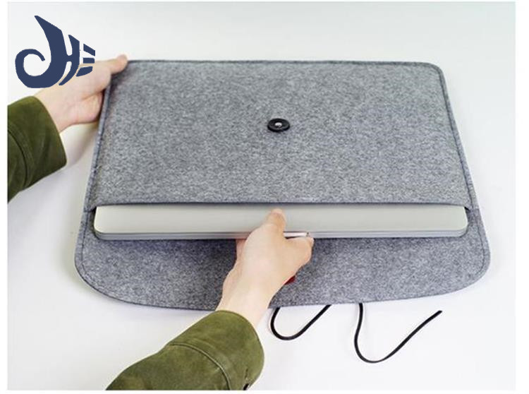 eco-friend durable felt laptop bag