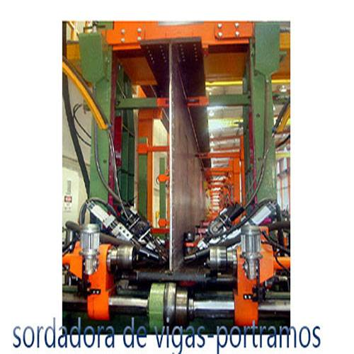 STEEL-BEAM PRODUCTION LINE
