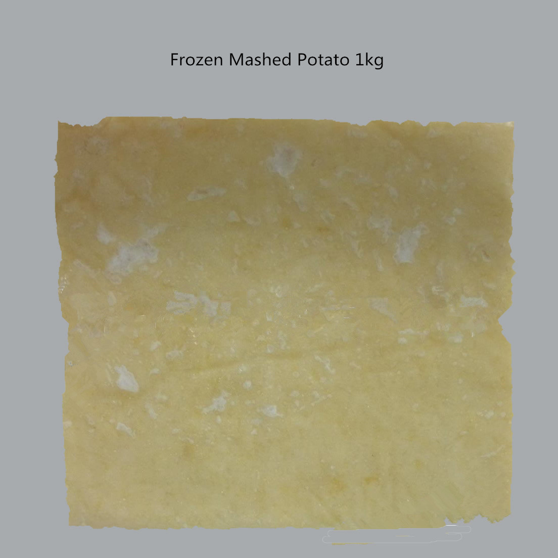 frozen mashed potato block