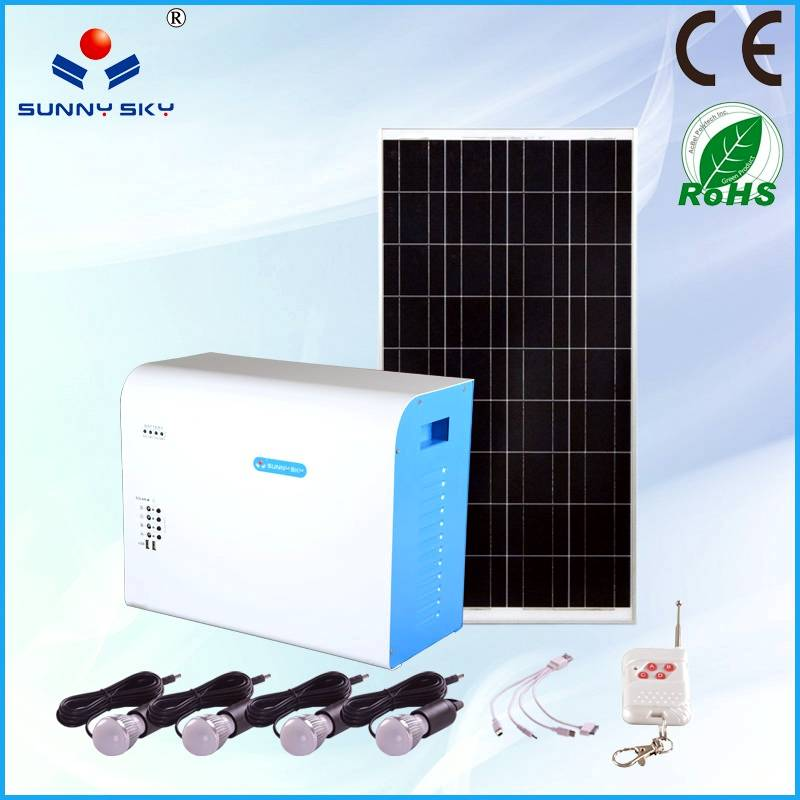 150W solar power system with mppt solar controller inverter
