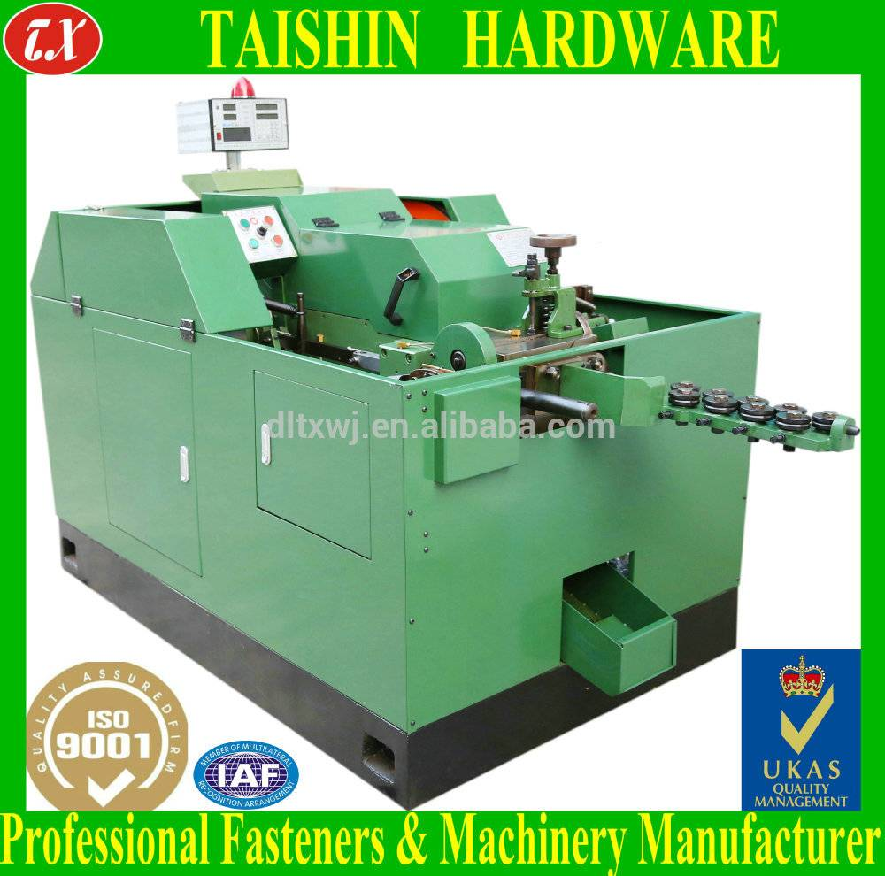 TX-15B Automatic High Speed 1-Die 2-Blow Cold Heading Screw Bolt Making Machine