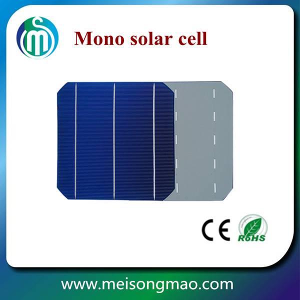 156*156 high efficiency A grade mono solar cell Taiwan solar cell