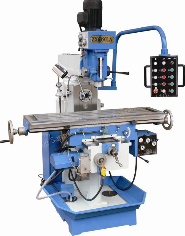 ZX6350LA Drilling and Milling Machine