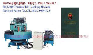 Hot sales MSJ-3040 Terrazzo tile polishing machine