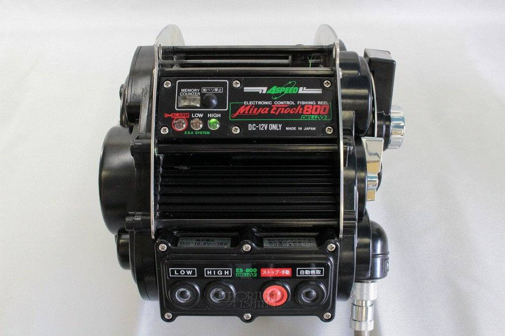 Miya Epoch 800 Deluxe 4-Speed Big Game Electric Reel