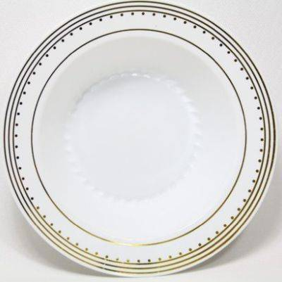 Disposable White Thick Plastic Plate