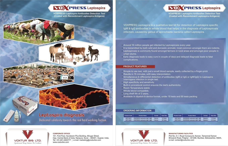 Voxpress Leptospira IgG/IgM Test