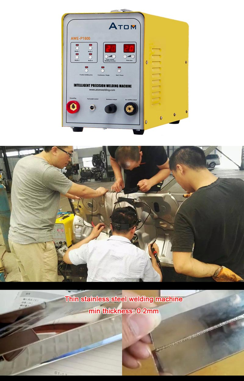 AWE-P1600 COLD WELDING MACHINE (STAINLESS STEEL WELDING MACHINE, CHANNEL LETTER WELDING )