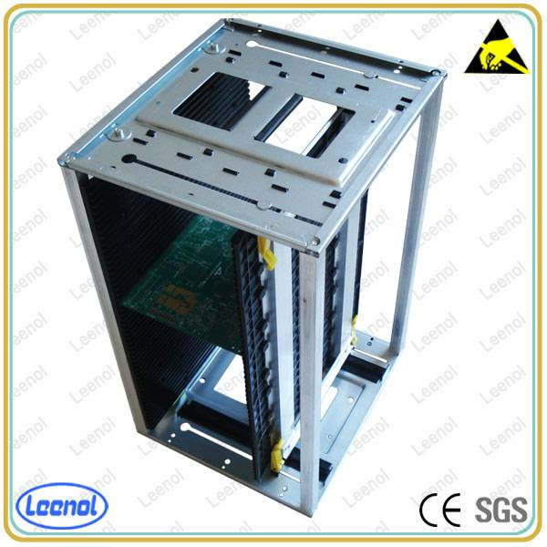 Adjustbale ESD SMT Magazine Rack For PCB Storage / SMT Rack