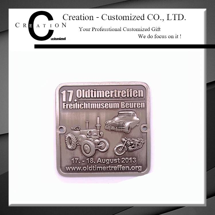 Souvenir Wholesale 3D Logo Challenge Coin