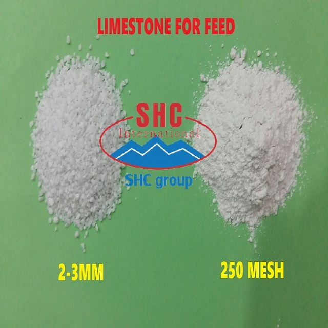Limestone for poultry feed