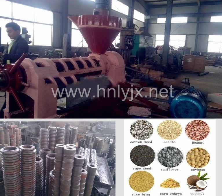 China factory direct sell to Nigeria soybean oil press machine