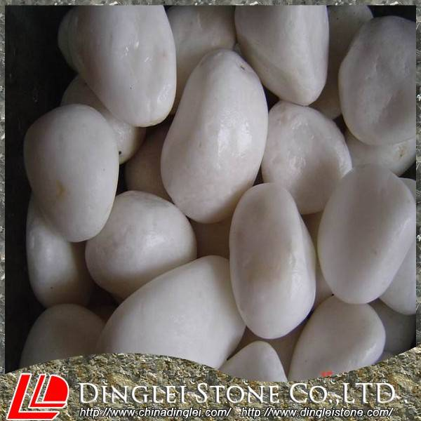 Pebbles White Cobbles Landscaping stone