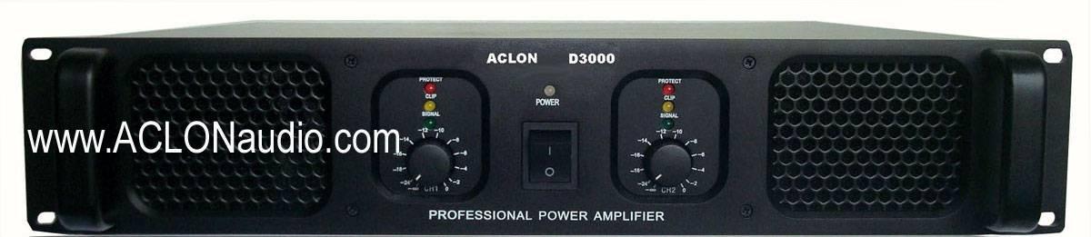 Professional Power Amplifier (D3000)/Famous Brand