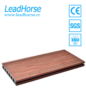 Durable Exterior Wood Plastic Composite Co-extrusion Decking