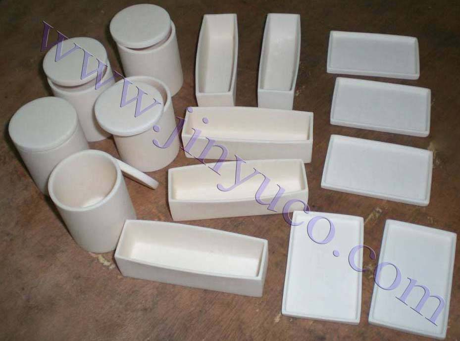 99.7 High Alumina ceramic crucible