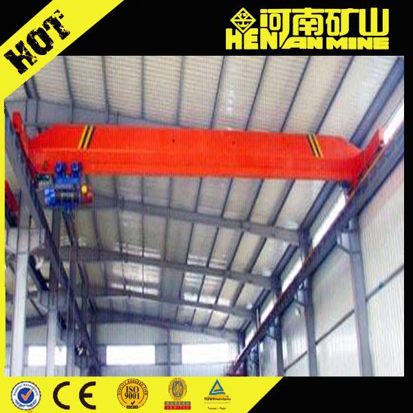 Electric Motor Drive Single Girder EOT Crane 5 ton 10 ton with durable bridge crane wheels