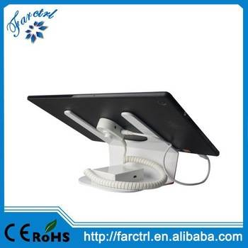 L Shape Anti-theft Display  Stand Holder Bracket for Tablet
