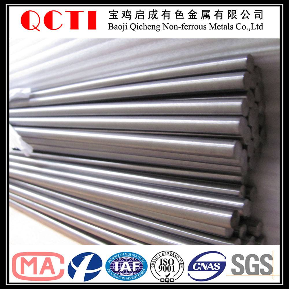 high tenisle strength and corrosion resistance titanium bar for industry and medical