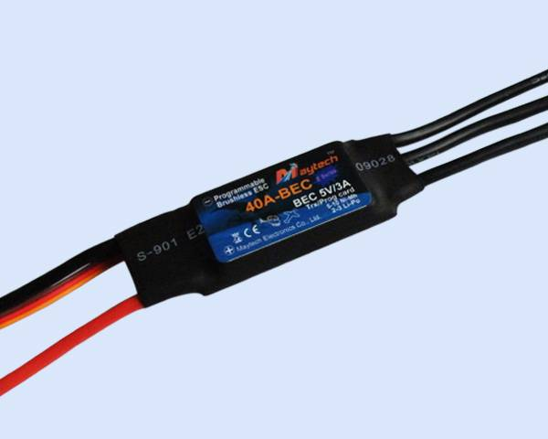 Maytech ESC for airplane helicopter and multicopter(MT40A-BEC-HE)