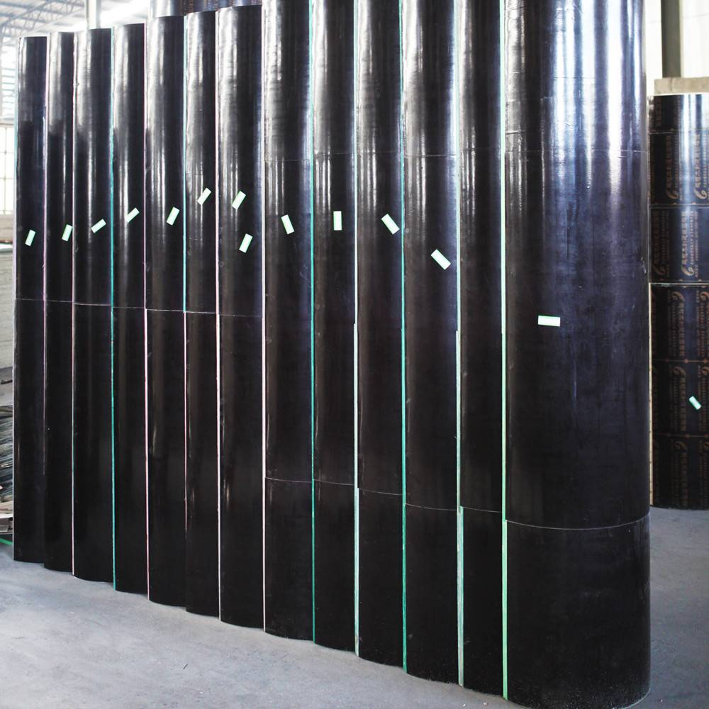 Round column molds for formwork system