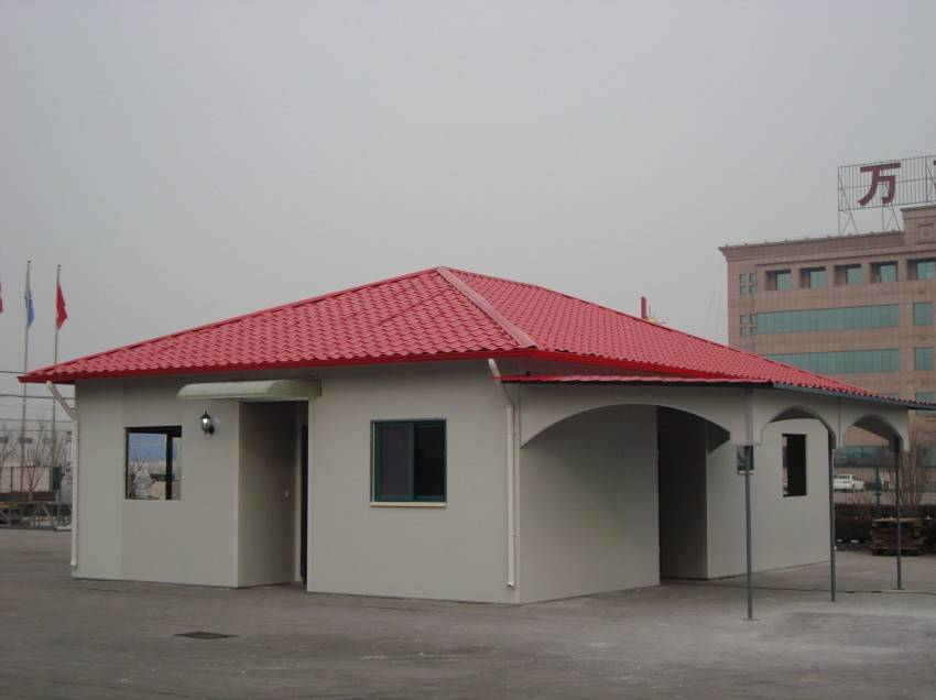 Prefabricated house, modular house, portable house, light steel structure