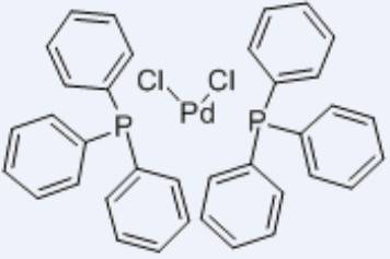 100% jakości najnowszy szczegółowe obrazy Bis(triphenylphosphine)palladium(II) Chloride CAS 13965-03-2 ...