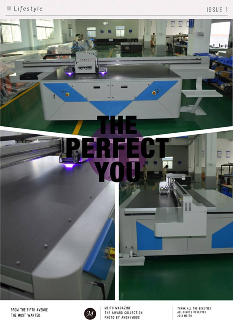 Wholesales glass plate and marble acrylic sheet inkjet UV Printing machine
