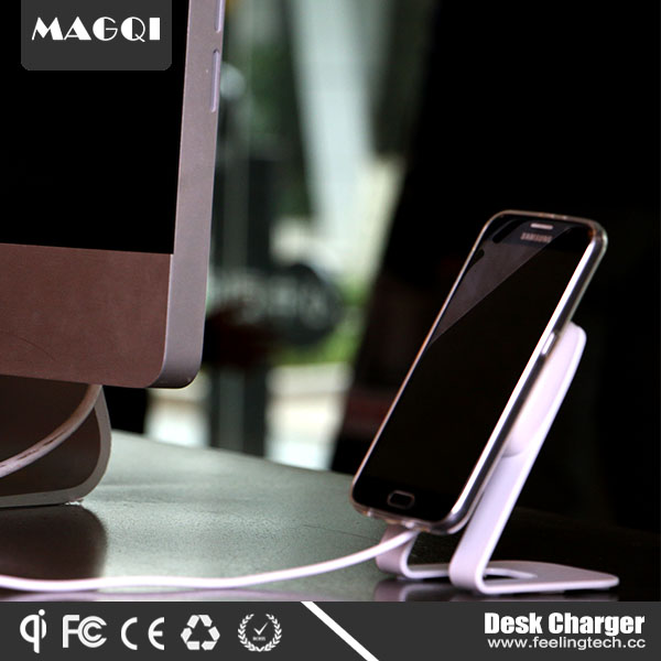Magqi wireless desktop charger with magnet