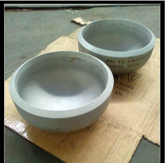 DIN stainless steel pipe cap
