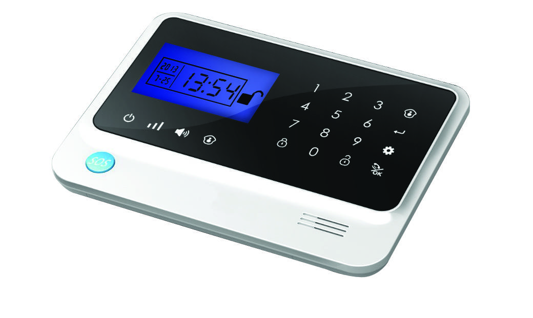 New Design Touch Screen Keypad GSM Intruder Alarm System for Home Protection (GS-G82E)
