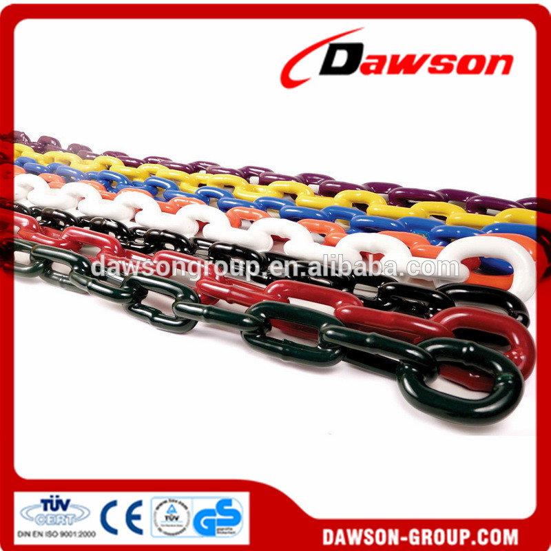 Forged steel PVC coated chain