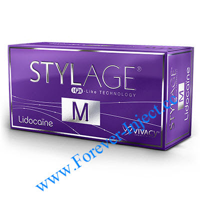 Stylage - M , VIVACY , IPN-LIKE , Cross-linked Hyaluronic Acid