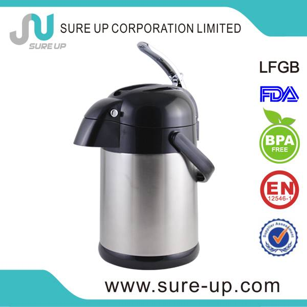 vacuum thermos air pump pot