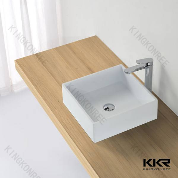 Resin stone solid surface countertop basin
