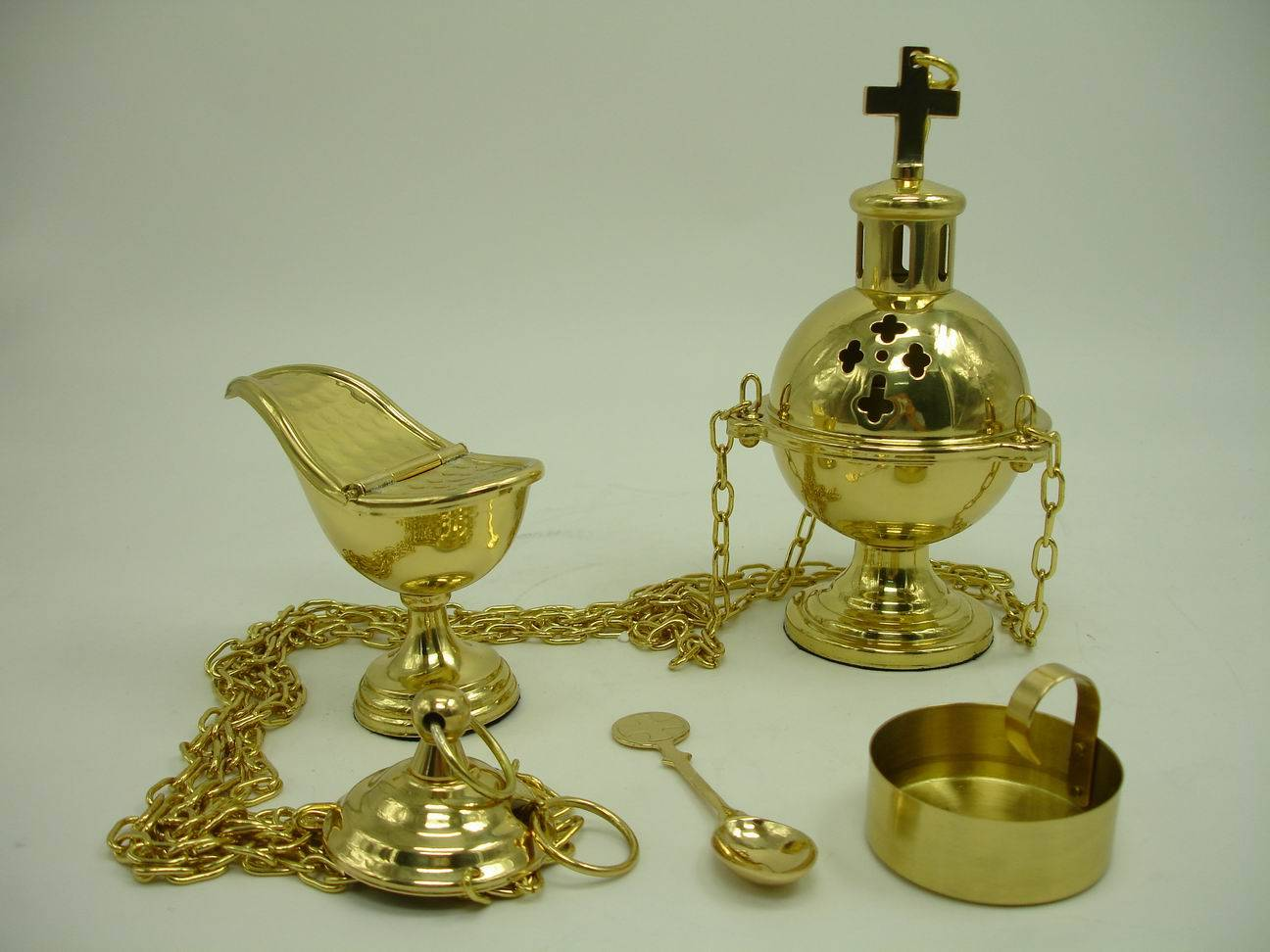 100% guaranteed high quality brass censer, perfect church articles #M3-1