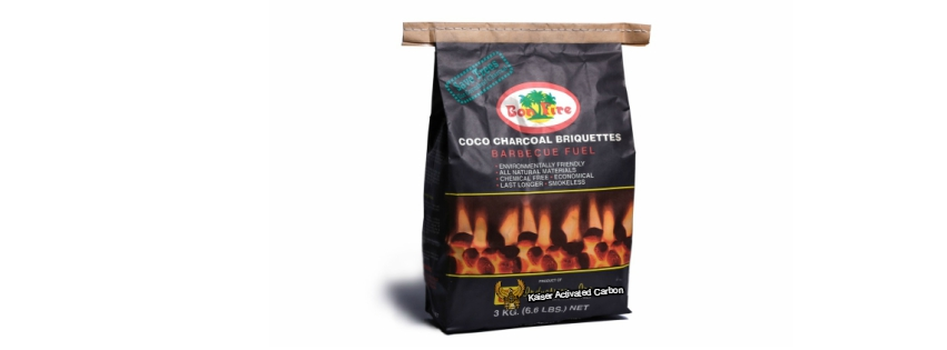 Activated Carbon, COCO CHARCOAL BRIQUETTES