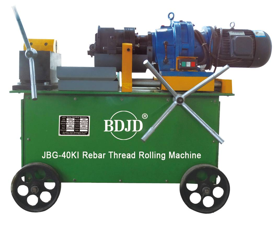 rebar threader bar threading machine construction steel rebar thread rolling machine