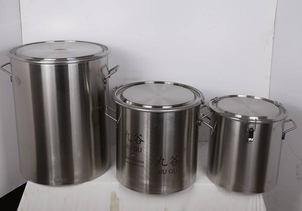 304 STAINLESS STEEL MILK DRUM