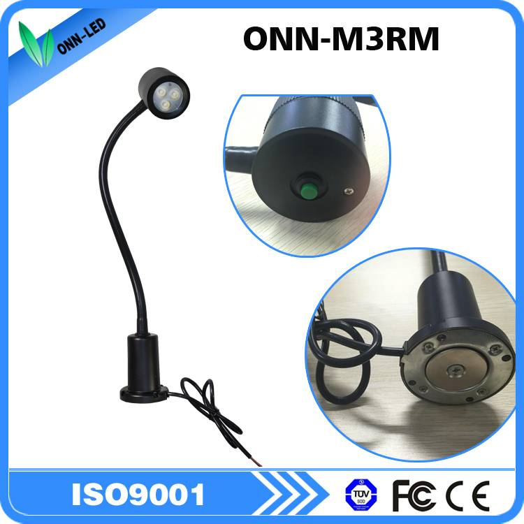 ONN-M3RM waterproof IP65 magnet base led machine tool work light