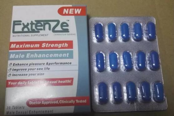 Blue Extenze Male Enhancement Nutritional Supplement Sex Pills for Male