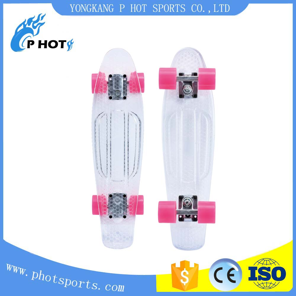 22 inch PC fish board penny board plastic skate board Hot skateboard